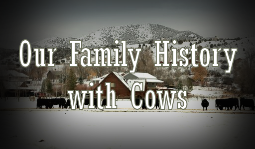 Our Family History with Cows