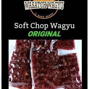 Soft Chop Sirloin Wagyu Beef Jerky